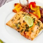 Honey Lime Salmon Recipe – 2 Points