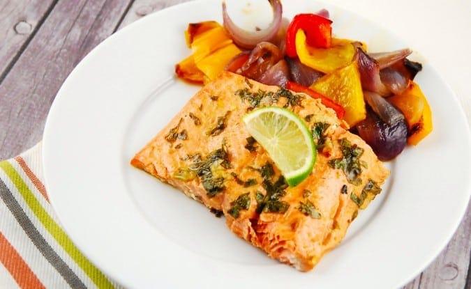 honey lime salmon