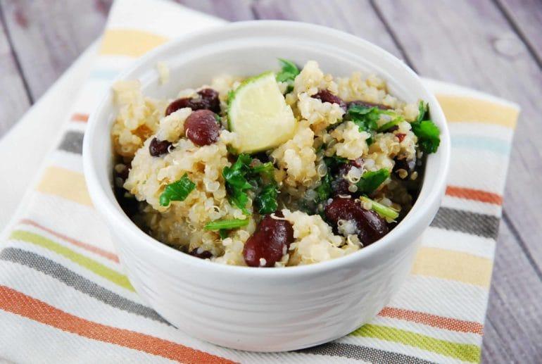 quinoa black bean salad