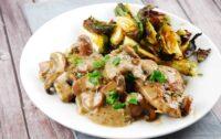 italian herbed chicken mushroom wine sauce