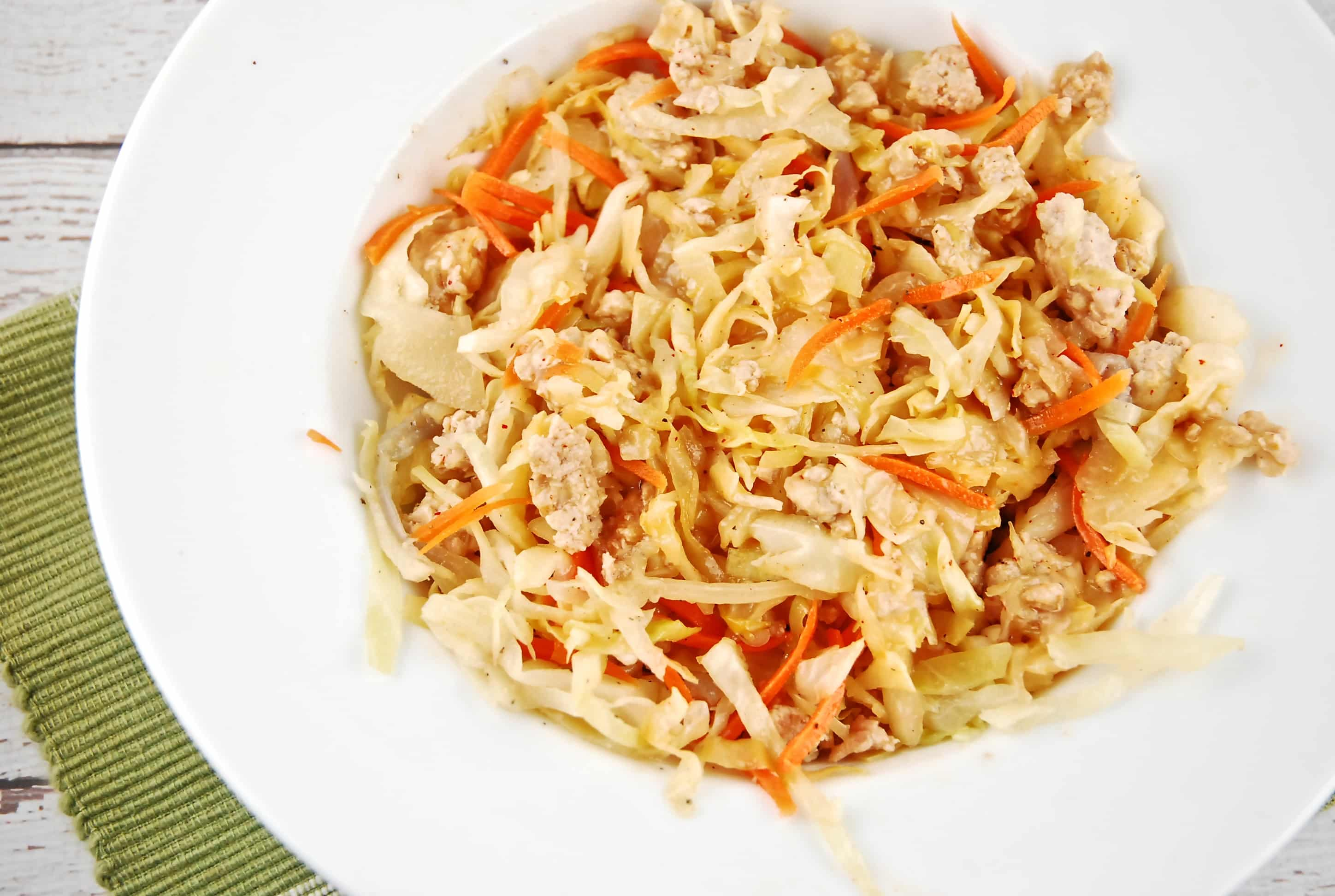 low carb crack slaw skinny points