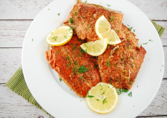 lemon butter salmon