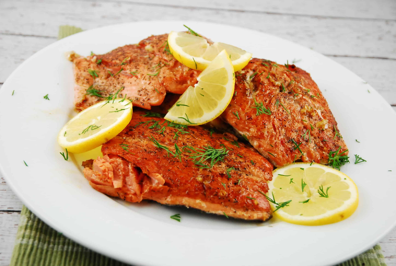 Lemon Butter Seared Salmon