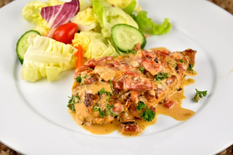 Roasted Red Pepper Chicken