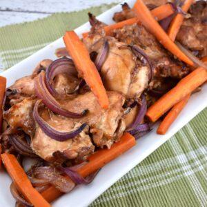 balsamic roasted chicken