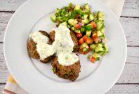 moroccan beef and lamb meatballs