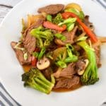 Beef and Vegetable Stir Fry Recipe – 6 Points
