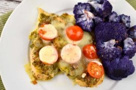 chicken pesto bake