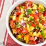 Mango Salsa Recipe – 0 Points
