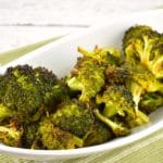 Quick Roasted Broccoli with Soy Sauce – 1 Point