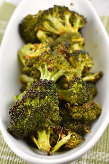 Roasted Broccoli with Soy Sauce