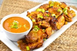 lazy satay chicken