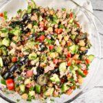 Mediterranean Tuna Salad Recipe – 2 Points