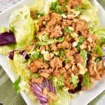 Asian Chicken Lettuce Wrap Bowls – 5 Points