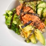 Asian Salmon Rice Bowl Recipe – 10 Points