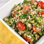 Quinoa Tabbouleh Salad Recipe – 4 Points