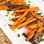 Roasted Garlic Butter Carrots – 3 Points