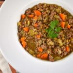 Lentil, Beef, and Quinoa Soup Recipe – 5 Points