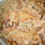 Creamy Mushroom Garlic Chicken Recipe – 6 Points