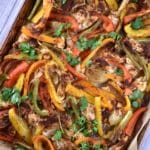 Sheet Pan Chicken Fajitas – 2 Points