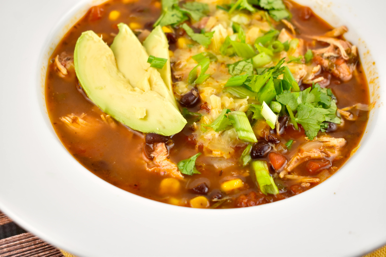 Instant Pot Chicken Enchilada Soup Recipe 1 Point Laaloosh