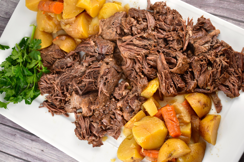 Instant Pot Sunday Pot Roast Recipe 7 Points Laaloosh