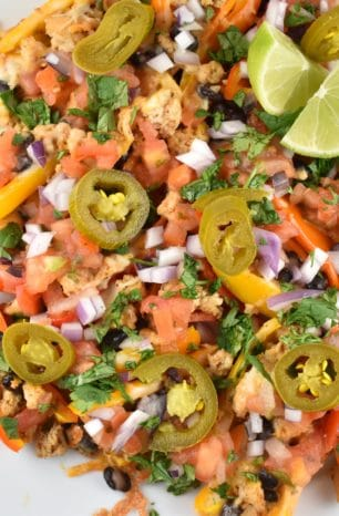 Mini Bell Pepper Nachos Recipe – 3 Points