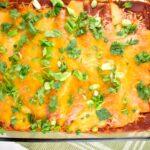 Chicken and Black Bean Enchiladas Recipe – 6 Points
