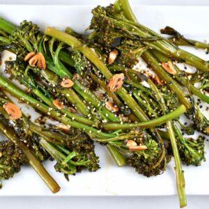 Easy Asian Style Broccolini