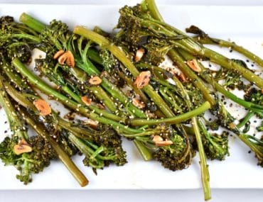 Easy Asian Style Broccolini