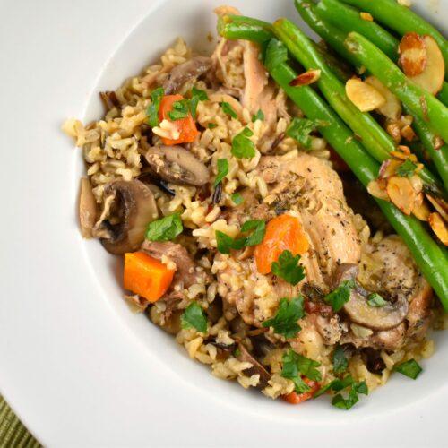 WW Chicken and Rice Recipe