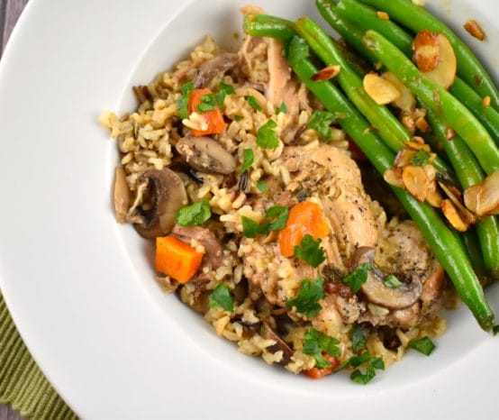 Instant Pot Chicken and Rice Recipe – 6 Points