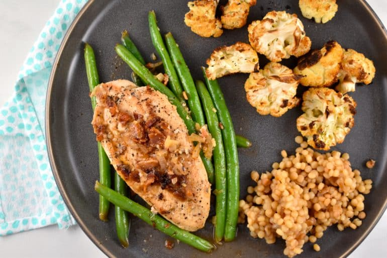One Pan Chicken and Green Beans