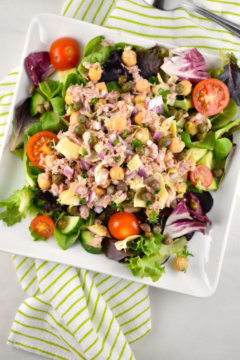 Tuna and Garbanzo Bean Salad