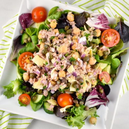 Tuna & Garbanzo Bean Salad
