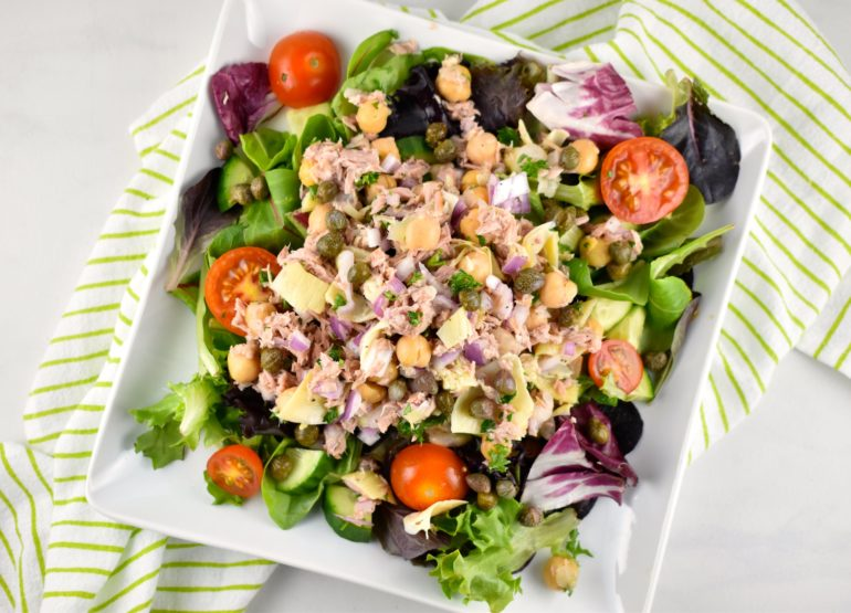 Tuna Garbanzo Bean Salad
